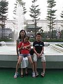 長榮海事博物館:博物館前的噴水池