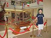 長榮海事博物館:英國戰船