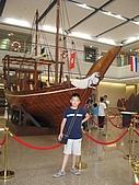 長榮海事博物館:阿拉伯漁船
