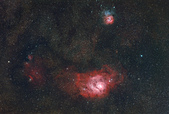 FSQ106ED 天文攝影:M8, M20 wide