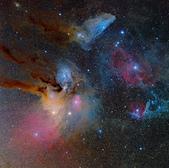 FSQ106ED 天文攝影:天蠍座頭部 (mosaic)