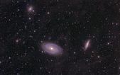 TOA130天文攝影:M81, M82與NGC3077