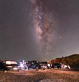天文攝影24mm F1.4L:昆陽夏夜 (2frames mosaic)