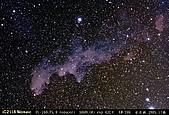 天文攝影FC-100:獵戶座IC2118 (2*2Mosaic)