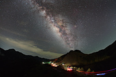 天文攝影其他:夏季銀河 車軌