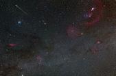 天文攝影其他:C/2014 Q2彗星 (4 frame mosaic)