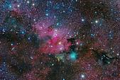 TOA130天文攝影:仙王座 SH2-155 洞穴星雲附近