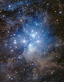 TOA130天文攝影:M45附近 (mosaic)