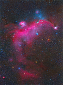 FSQ106ED 天文攝影:IC2177海鷗星雲附近