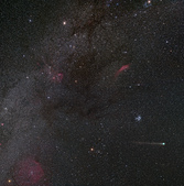 天文攝影其他:C/2014 Q2彗星 (廣視野)