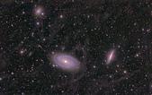 TOA130天文攝影:M81與M82 附近雲氣