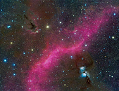 FSQ106ED 天文攝影:巴納德環與M78附近