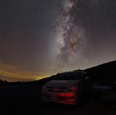 天文攝影24mm F1.4L:夏季銀河 (2frames mosaic)