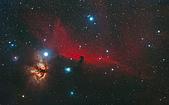 TOA130天文攝影:IC434 馬頭星雲附近