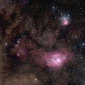 VC200L天文攝影:M8M20 (6 frames mosaic)