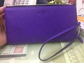 我的精品:2014-10-08紫色手拿包,真皮材質,棒棒!於FB什團搶購到,金額3100