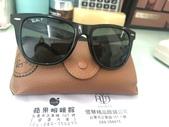 我的精品:109.6.13購入,第一副名牌太陽眼鏡~雷朋$7000