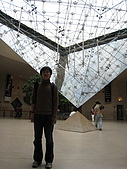 Paris Aibaobao^2:不是在羅浮宮內哦