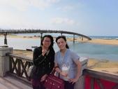 東北角踢館去~:超盡責的雅婷和我在福隆海邊