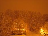 三月 冬末.初春:凌晨四點突然下起大雪來