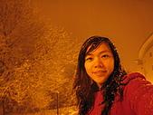 三月 冬末.初春:半夜一個人出來賞雪